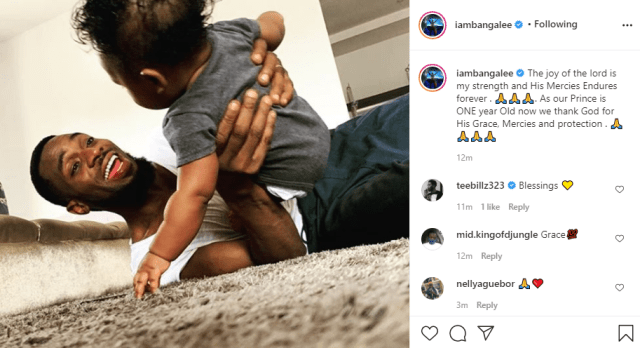 Dbanj celebrates son's 1st birthday 2