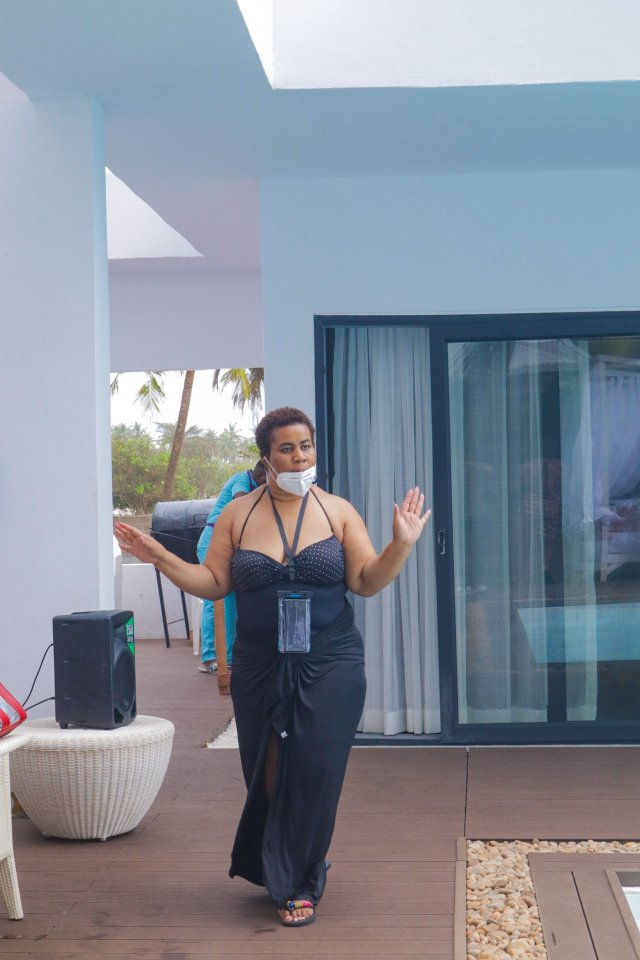 Check Out Photos of your Faves at Waje's 40th Birthday Beach Bash 32