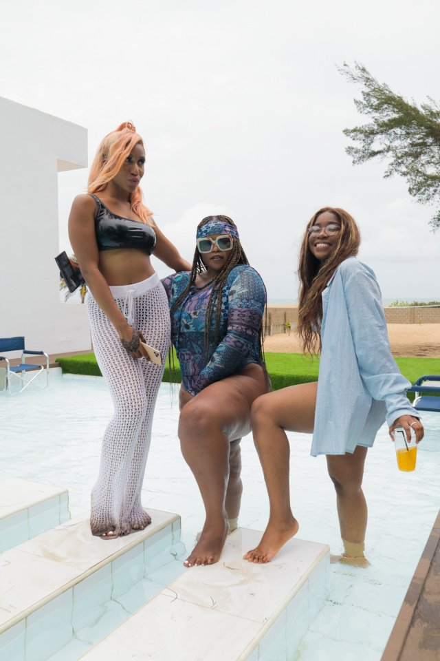 Check Out Photos of your Faves at Waje's 40th Birthday Beach Bash 11