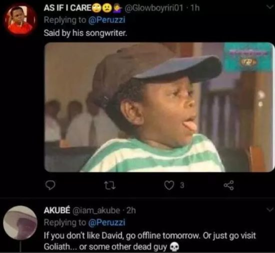 Fans blast Peruzzi on Twitter after he said this about Davido in public 6