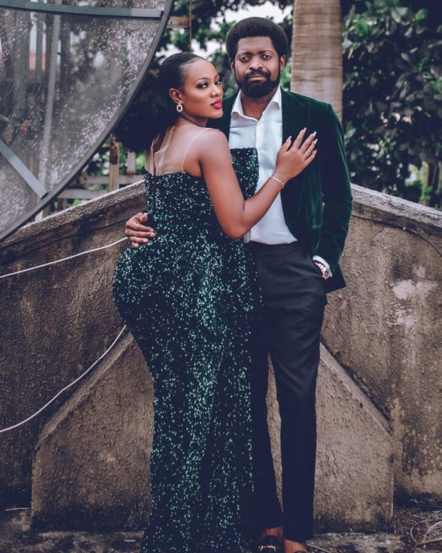 Photos: Basketmouth & Elsie Okpocha are Celebrating 10 Years of Love 5