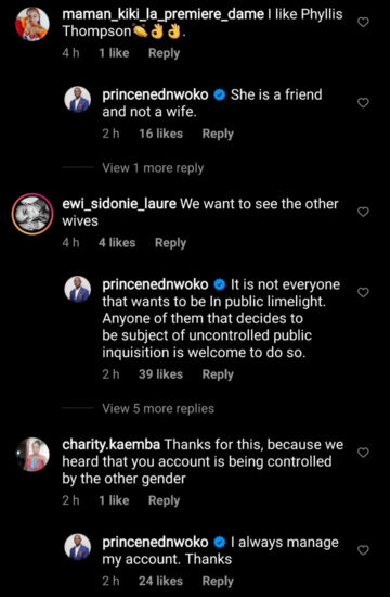 Ned Nwoko responds to an offer of marriage from an older woman 3