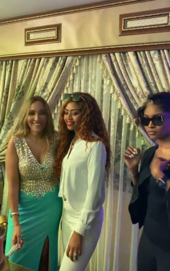 Photos from the 30th birthday celebration of billionaire businessman Ned Nwoko's Moroccan wife, Laila 5