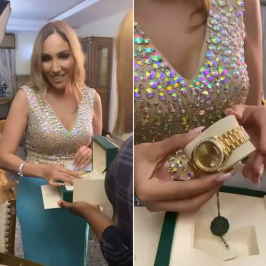 Photos from the 30th birthday celebration of billionaire businessman Ned Nwoko's Moroccan wife, Laila 8