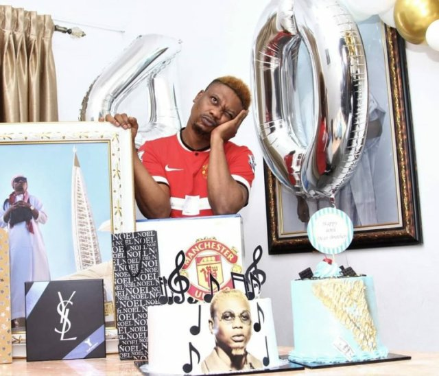 Family, Cakes & PS5 – Reminisce had the Best Birthday Celebration (Photos) 1