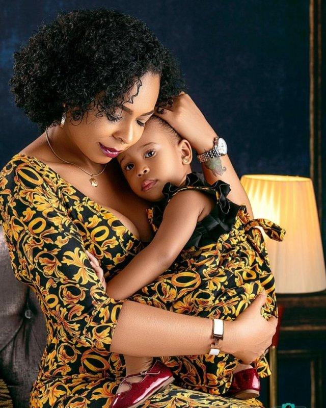 These Photos of TBoss Twinning with Her Daughter Starr Will Make You Smile 8