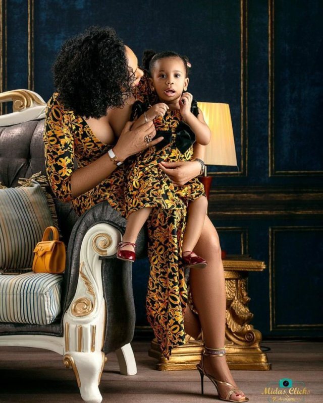 These Photos of TBoss Twinning with Her Daughter Starr Will Make You Smile 2