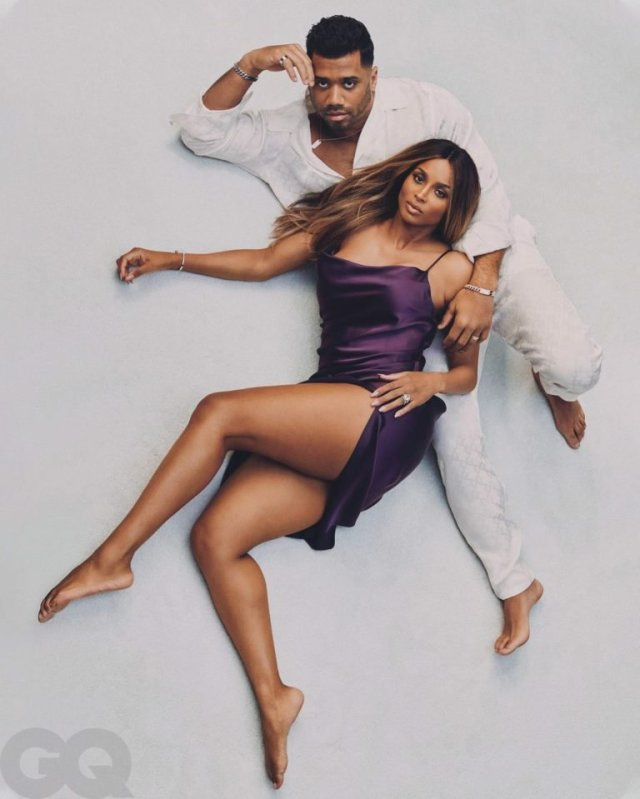 Ciara and Russell Wilson are the Perfect Cover Couple for GQ's 'Modern Lovers' Issue 3