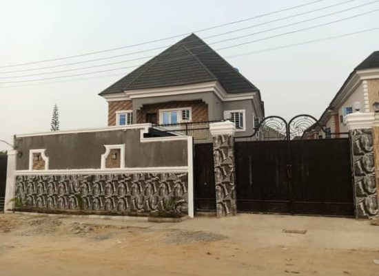 Singer, African China shows off his newly completed luxury house 3