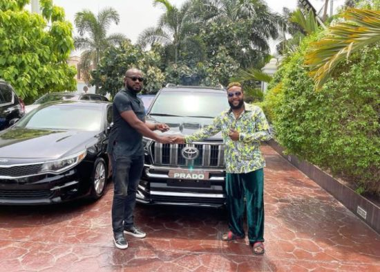 E-Money gifts luxury cars to people on his 40th birthday (Photos) 3