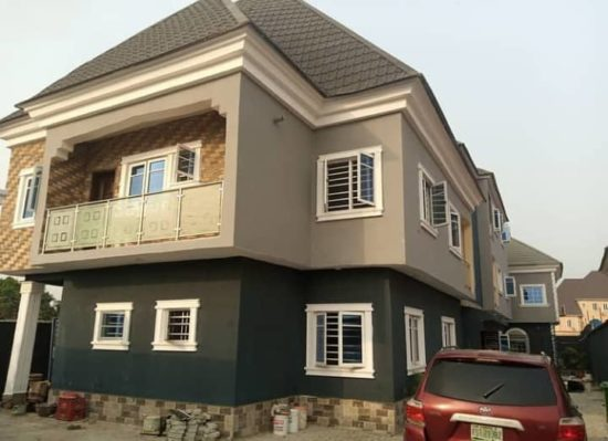 Singer, African China shows off his newly completed luxury house 2