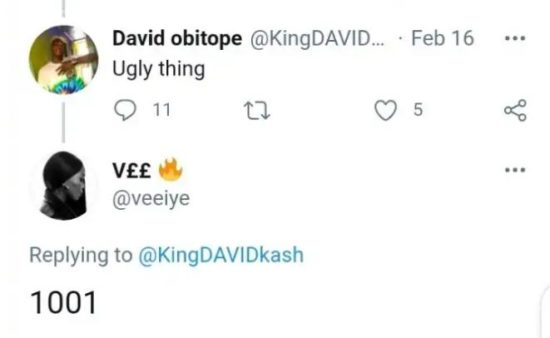 """""""Ugly thing"""" – Man blasts BBNaija's Vee after she shared a make-up free photo, Vee responds 3"""