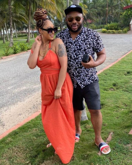 Olakunle Churchill and new wife, Rosy Meurer continue to pepper social media with loved up photos 3