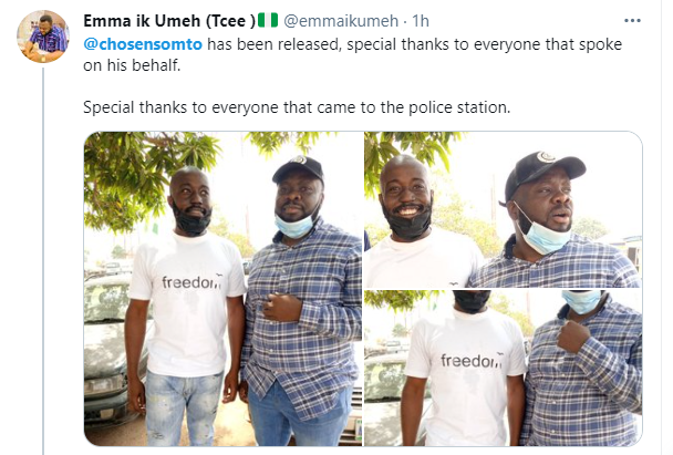 Top Buhari critic, Somto Onuchukwu 'Chosen Somto' reportedly arrested by the police 9