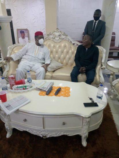 Femi Fani Kayode Visits Sunday Igboho (Photos) 1