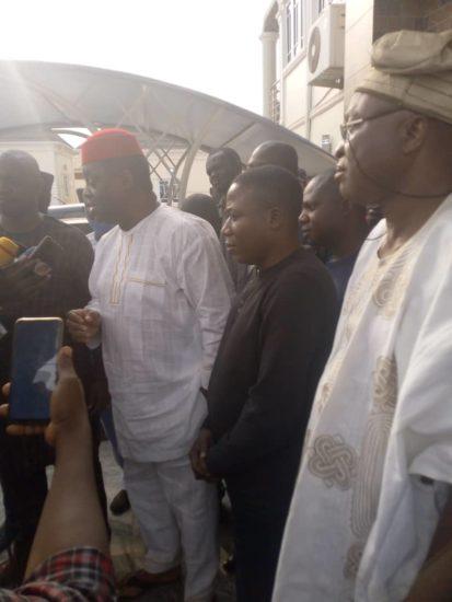 Femi Fani Kayode Visits Sunday Igboho (Photos) 5