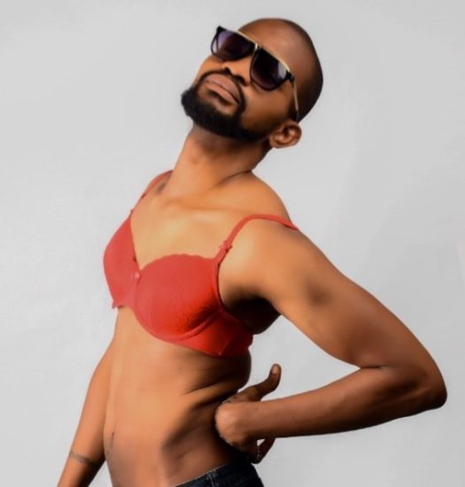 Uche Maduagwu Shares Photo Of Himself In Bra After Coming Out As Gay 1