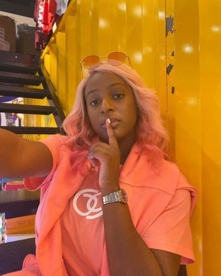 Davido's PA, Israel fires back at Cuppy after she threatened to sue him to court 1
