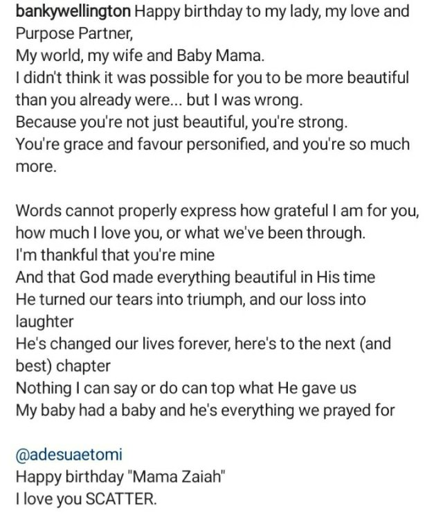 It's a Boy! Banky W and Adesua Etomi announces the birth of their First Child 2
