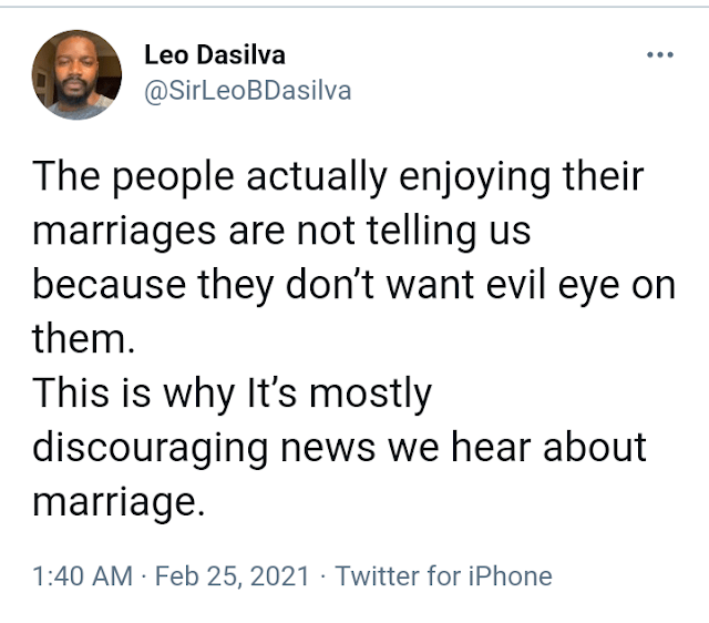 Reality Star Leo Dasilva Explains Why we don't see Successful Marriages On Social Media 2