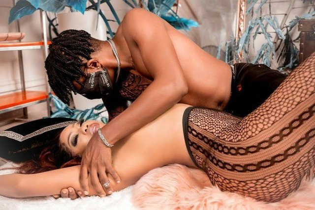 Toyin Lawani shares sultry photos of herself and her fiance, says business becomes easy when you work with your soul mate 2