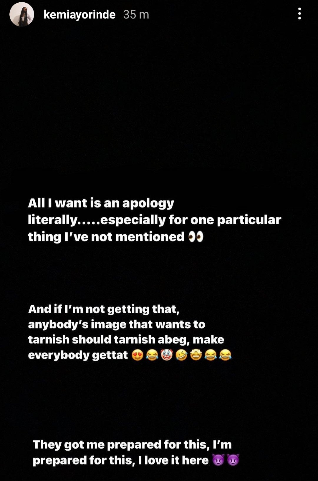 60a4ce5ec1b737932771565644379288 - Lyta's Baby mama continues to drag him as she goes on a long rant about him not contributing financially