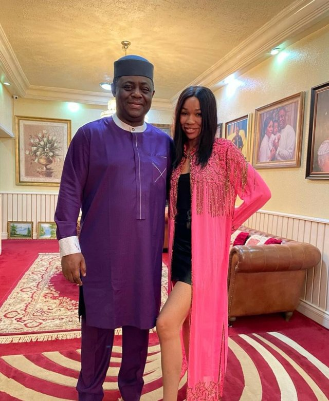 Photos; Femi Fani-Kayode finds love again in the hands of another Beauty Queen 4