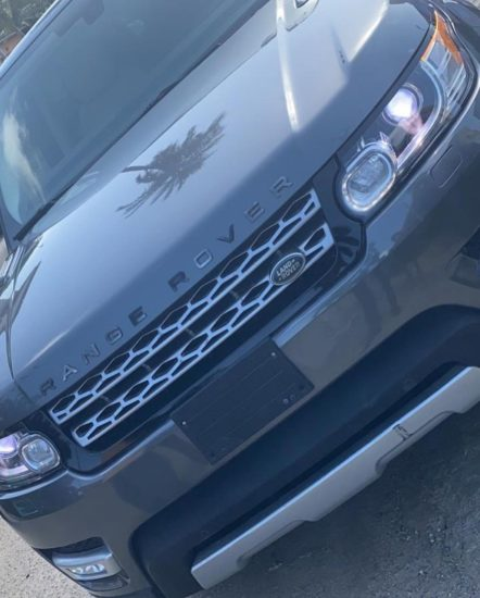 Davido Buys New Range Rover for his daughter