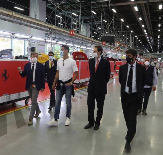 Cristiano Ronaldo Buys 'Ferrari Monza' Limited Edition Worth N740m (Photos) 4