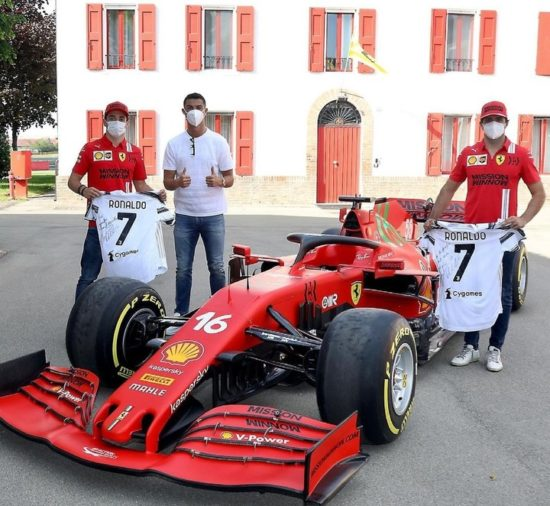 Cristiano Ronaldo Buys 'Ferrari Monza' Limited Edition Worth N740m (Photos) 2