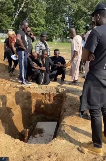 Tears As Singer Sound Sultan Is Laid To Rest In U.S [Photos] - 9ja Breed