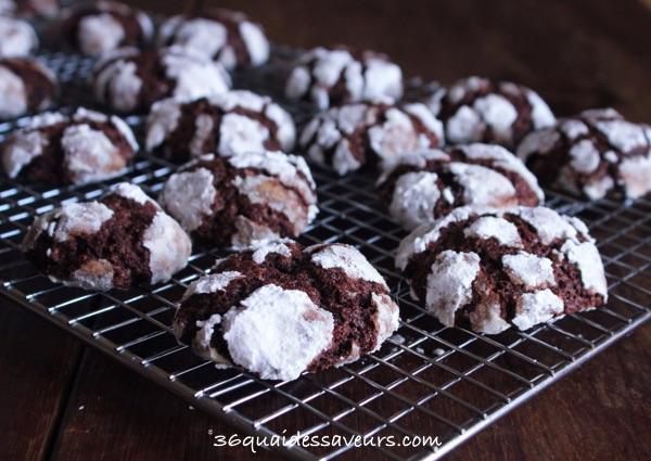 Biscuits Craquelés au Chocolat