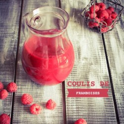 Coulis de framboises ou autres fruits rouges