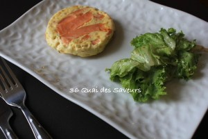 croque quiche saumon