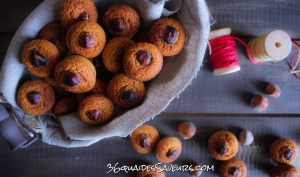 mini financiers aux noisettes