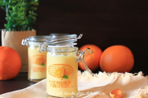 Orange Curd (crème à l'orange)