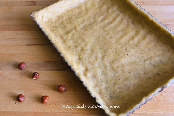 pâte sablée à la noisette