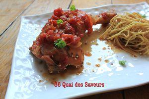 poulet-miel-soja-tomate