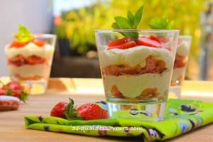tiramisu fraises biscuits roses reims