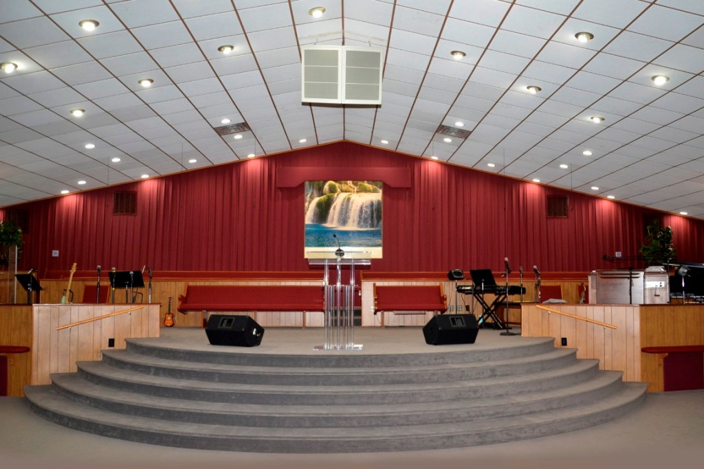 The Stage at The Church of Jesus Christ Apostolic