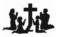 graphic of kids praying