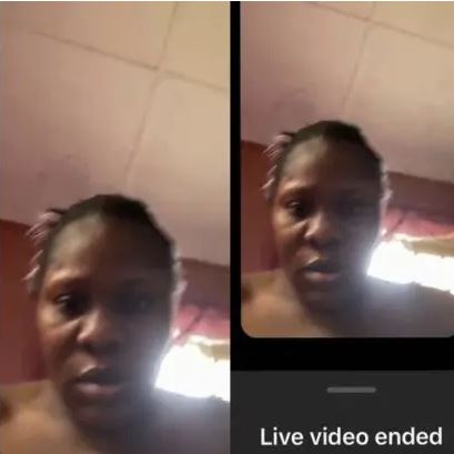 Drama As Owner Of Instablog Accidentally Shows Her Face On Live Video