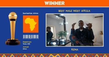 Master KG, Rema Wins Big AFRIMMA's