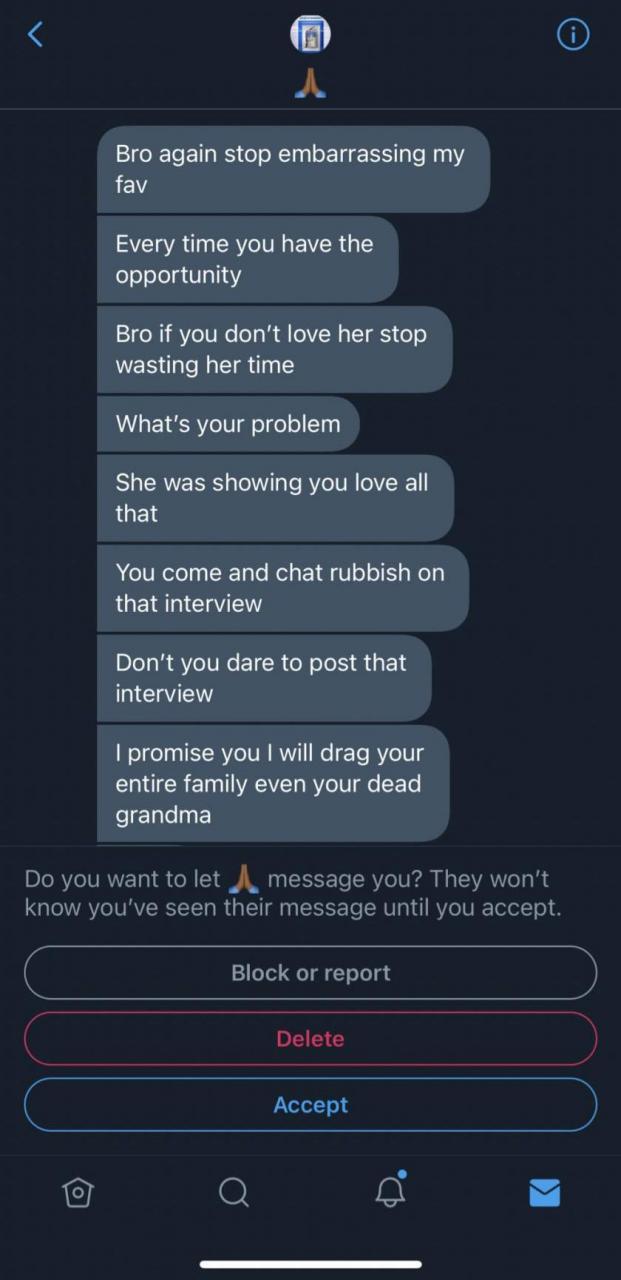 Kiddwaya cries out as fan threatens him