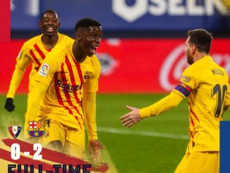 Osasuna vs Barcelona 0-2 – Highlights