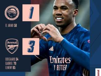 Olympiacos Piraeus vs Arsenal 1-3 – Highlights Download 11 March 2021 UEFA Europa League