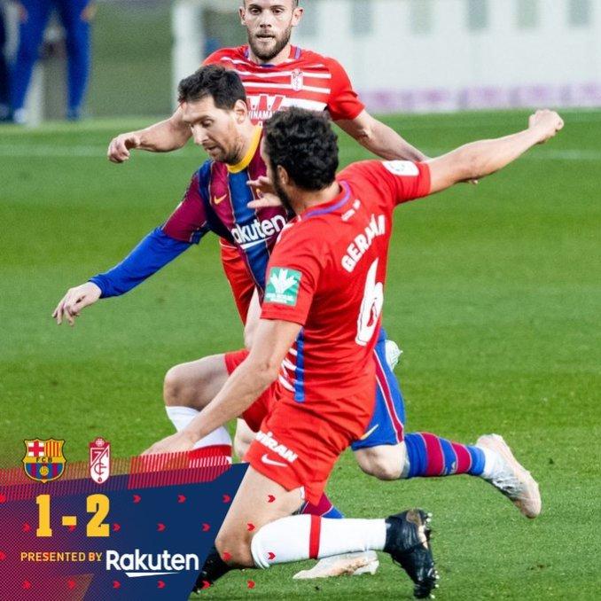 Barcelona vs Granada CF 1-2 – Highlights Download MP4 HD 29 April 2021 La Liga
