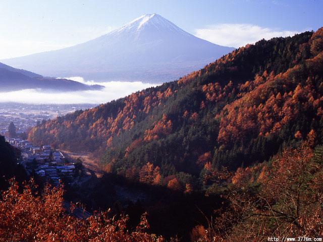 秋の御坂峠/御坂峠