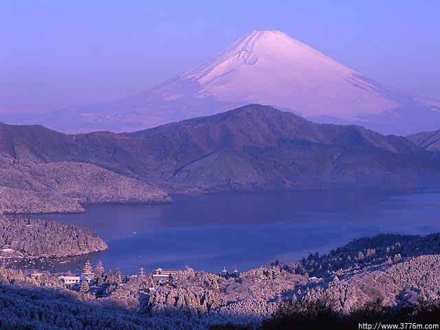 早春の雪景色/大観山