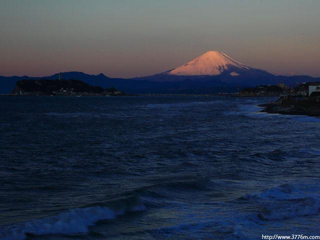 湘南の紅富士/稲村ヶ崎
